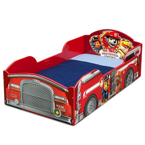 brand new c7912 27ec6 Delta Children Paw Patrol Marshall Wood Toddler Bed