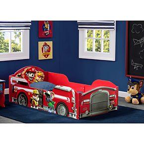 Delta Children Paw Patrol Marshall Wood Toddler Bed