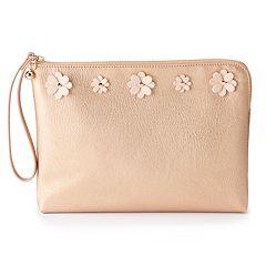 LC Lauren Conrad Madoline Floral Wristlet