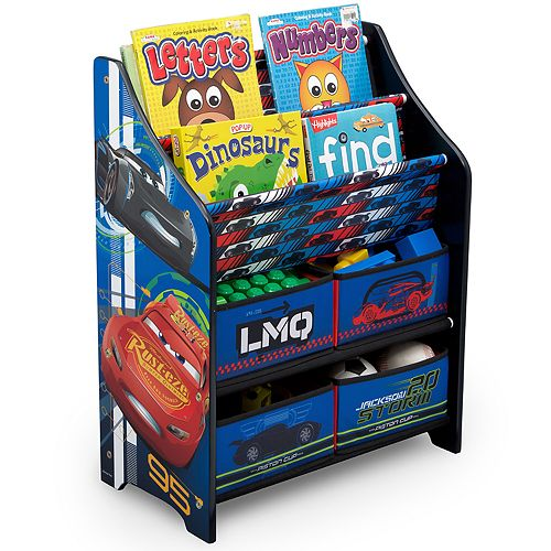 Disney / Pixar Cars Book & Toy Organizer by Delta Children