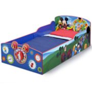 Disney's Mickey Mouse Interactive Wood Toddler Bed by Delta Children