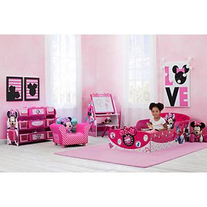 Disney's Minnie Mouse Interactive Wood Toddler Bed by Delta Children