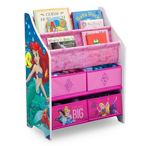 Disney Princess Book & Toy Organizer by Delta Children