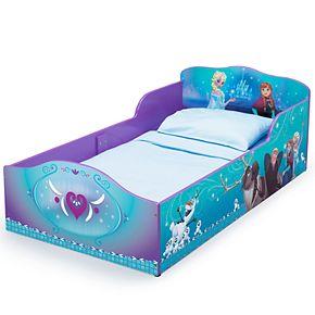 Disney's Frozen Wood Toddler Bed by Delta Children