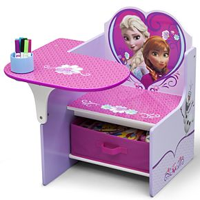 Disney's Frozen Chair Desk With Storage Bin by Delta Children
