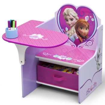 Disney's Frozen Chair Desk With Storage Bin by Delta Children