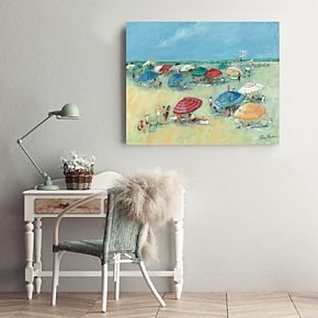 New View The Shore Canvas Wall Art