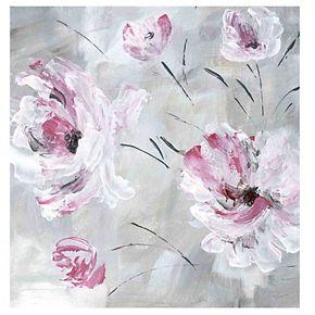 New View Blush Bloom I Canvas Wall Art