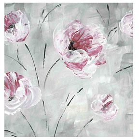 New View Blush Bloom II Canvas Wall Art
