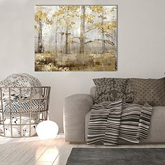 New View Through The Forest Canvas Wall Art