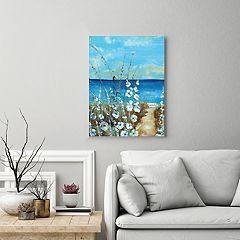 New View Outershore Canvas Wall Art