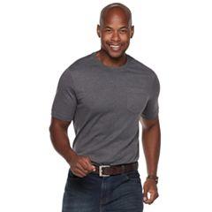 Men's Croft & Barrow® Classic-Fit Easy-Care Crewneck Pocket Tee
