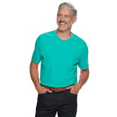 Men's Croft & Barrow® Classic-Fit Easy-Care V-Neck Pocket Tee