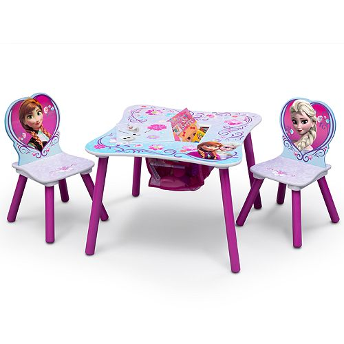 Disney's Frozen Table & Chairs with Storage by Delta Children