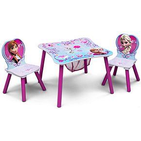 Disney's Frozen Table & Chairs with Storage by Delta Children