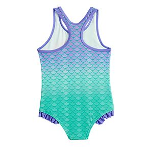Disney's The Little Mermaid Ariel Toddler Girl One-Piece Swimsuit by Dreamwave