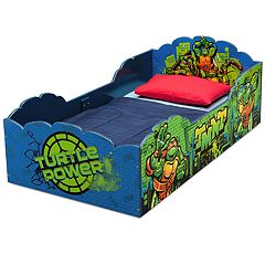 Delta Children Teenage Mutant Ninja Turtles Wood Toddler Bed