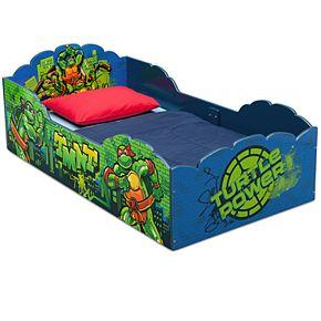 Delta Children Teenage Mutant Ninja Turtles Wood Toddler Bed