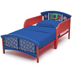 Delta Children PJ Masks Plastic Toddler Bed