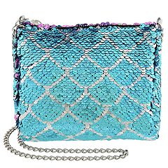 Girls Flip Sequin Mermaid Cross Body Purse