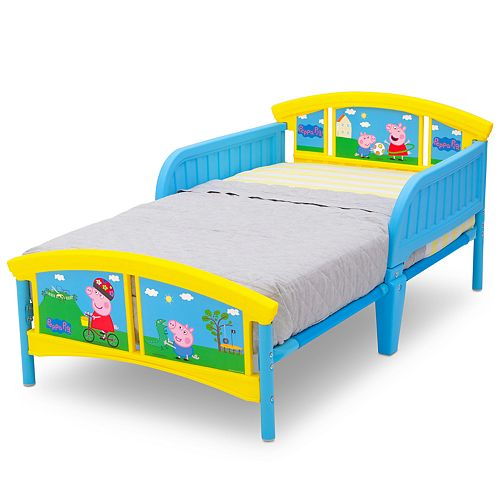 Delta Children Peppa Pig Plastic Toddler Bed