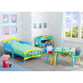 Delta Children Peppa Pig Plastic Toddler Bed
