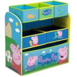 Delta Children Peppa Pig Multi-Bin Toy Organizer