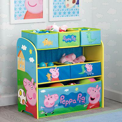 Delta Children Peppa Pig Multi-Bin Toy Organizer