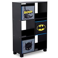 Delta Children DC Comics Batman 6-Cubby Deluxe Storage Unit