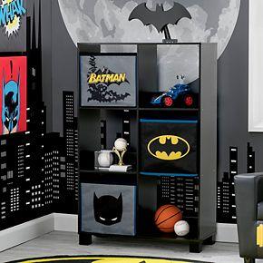 Delta Children DC Comics Batman 6-Cubby Deluxe Storage Unit