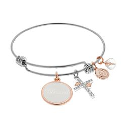love this life 'Blessed' Bangle Bracelet
