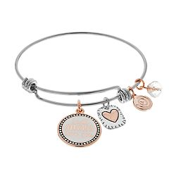 Love This Life 'Mother Daughter' Bangle Bracelet