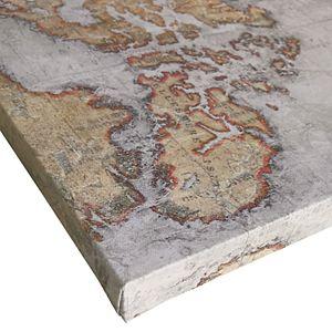 Madison Park World Map Canvas Wall Art 3-piece Set