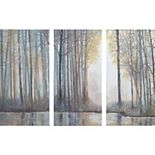 Madison Park Forest Dream Canvas Wall Art 3-piece Set