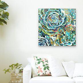 Desert Bloom Soft Canvas Wall Art