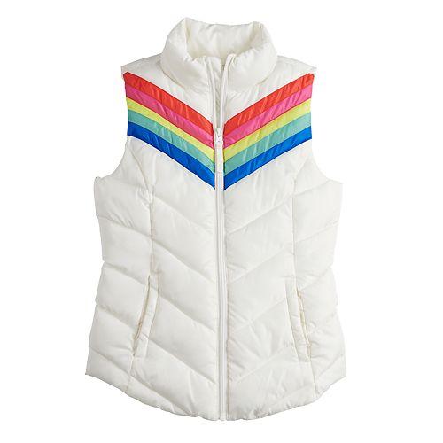 Girls 4-16 SO® Puffer Vest