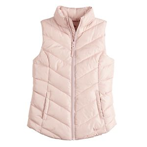 Girls 4-16 SO® Puffer Vest