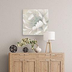 Winter Blooms II Canvas Wall Art
