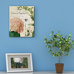Botany Collage IV Canvas Wall Art