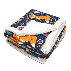 Lush Decor Pixie Fox Throw