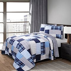 Lush Decor Greenville 3-piece Quilt Set