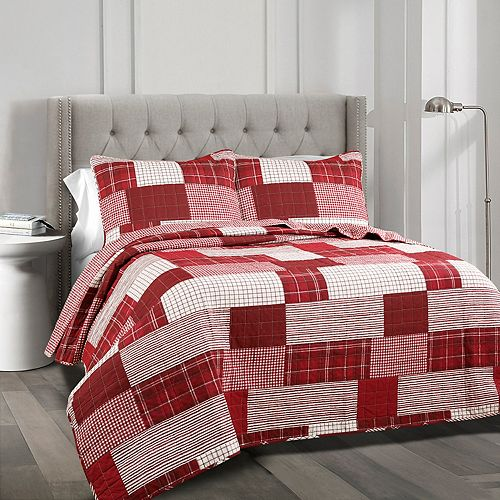 Lush Decor Greenville 3-piece Quilt Set