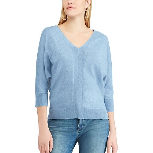 Women's Chaps V-Neck Sweater