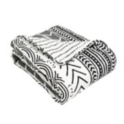 Lush Decor Hygge Geometric Throw