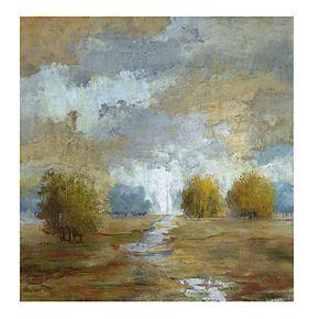 Lush Meadow I Canvas Wall Art