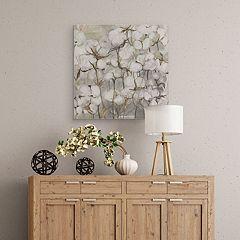 Cotton Field Canvas Wall Art