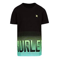 Boys 4-7 Hurley Bitmapped Gradient Logo Graphic Tee