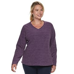 Plus Size Tek Gear® Long Sleeve Microfleece Top