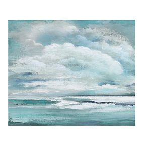 "Billowing Clouds 22"" x 28"" Canvas Wall Art"