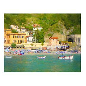 """Coastal Italia II 18"""" x 24"""" Canvas Wall Art"""